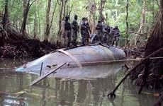 Brazil và Ecuador bắt giữ tàu ngầm chuyên vận chuyển ma túy