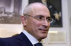 Nga bắt giữ vắng mặt và truy nã cựu tài phiệt Mikhail Khodorkovsky