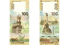 Nga phát hành loại tiền mệnh giá 100 ruble ở bán đảo Crimea