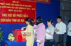 Đảm bảo công tác an ninh phục vụ bầu cử đại biểu Quốc hội khóa XIV