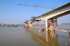 Bắc Ninh khánh thành cây cầu Bình Than bắc qua sông Đuống
