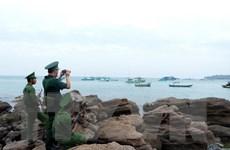 Thăm, chúc Tết cán bộ chiến sỹ và nhân dân các đảo Tây Nam