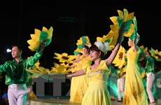 Lượng khách đến Festival hoa Đà Lạt chỉ bằng một nửa so với dự kiến