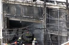 Cháy lớn tại Thành phố Hồ Chí Minh thiêu rụi nhiều siêu xe