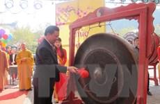Ninh Bình tưng bừng khai mạc Lễ hội chùa Bái Đính năm 2016