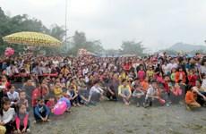 Hội Xuân lớn nhất tỉnh Thái Nguyên thu hút du khách thập phương
