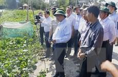 Phó Thủ tướng kiểm tra tình hình xâm nhập mặn tại Hậu Giang