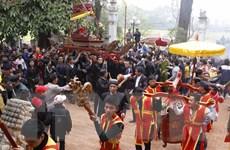 Hà Nội: Tưng bừng khai hội Tản Viên Sơn Thánh tại huyện Ba Vì