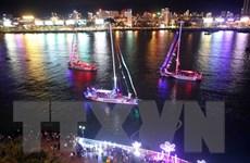 12 thuyền buồm diễu hành trên sông Hàn: Ấn tượng khó quên