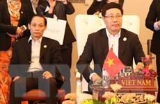 Khai mạc Hội nghị hẹp Ngoại trưởng ASEAN tại thủ đô Vientiane