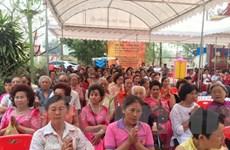 Tổ chức đại lễ cầu siêu tri ân các liệt sỹ Gạc Ma tại Thái Lan