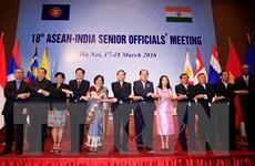 Quan chức cao cấp ASEAN-Ấn Độ bàn về vấn đề Biển Đông