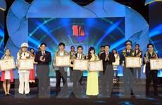 10 gương mặt trẻ Việt Nam tiêu biểu năm 2015 được vinh danh