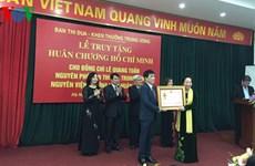 Truy tặng Huân chương Hồ Chí Minh cho nguyên Phó Ban Thi đua TW