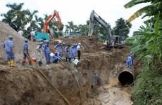 Đồng ý tạm dừng hợp đồng ống nước sông Đà với nhà thầu Trung Quốc