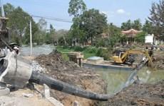 Tiền Giang cung cấp nước ngọt cho 30.000 hộ dân vùng hạn mặn