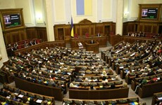 Quốc hội Ukraine bác chương trình hành động của chính phủ