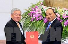 Ông Phan Văn Sáu chính thức nhận chức Tổng Thanh tra Chính phủ
