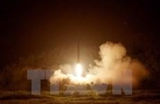 """Mỹ: Vụ thử tên lửa của Triều Tiên là thất bại """"cay đắng và thảm khốc"""""""