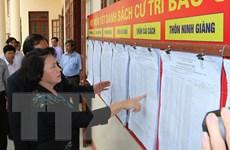 Giám sát, kiểm tra công tác chuẩn bị bầu cử tại một số địa phương