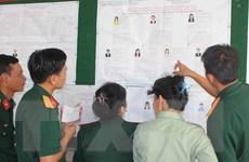 Bà Rịa-Vũng Tàu tổ chức bầu cử sớm cho các lực lượng trên biển