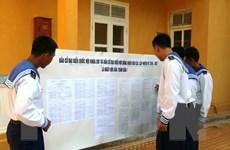Huyện đảo Trường Sa chuẩn bị chu đáo đón ngày hội bầu cử