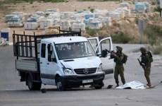 Một người Palestine lái xe đâm vào nhóm binh sỹ Israel ở Bờ Tây