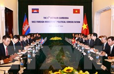 Tham khảo chính trị cấp Thứ trưởng Ngoại giao Việt Nam-Campuchia
