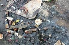Nổ bình gas mini trong giờ thực hành nấu ăn, 5 học sinh bị bỏng