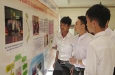 """Thiếu nhi vẽ tranh về """"tương lai Việt Nam và điện hạt nhân"""""""