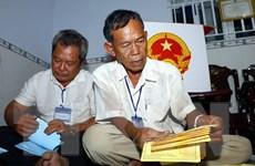 Các địa phương hoàn tất công tác bầu cử, khẩn trương kiểm phiếu