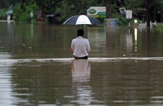 Đã có hơn 90 người thiệt mạng vì lũ lụt và lở đất tại Sri Lanka