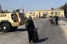 Ai Cập tạm thời mở lại cửa khẩu biên giới với Gaza trong 4 ngày