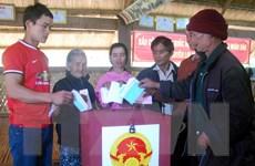 Tỉnh Kon Tum công bố kết quả bầu cử đại biểu Hội đồng Nhân dân