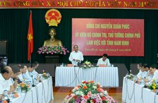 Thủ tướng: Nam Định cần kêu gọi đầu tư công nghiệp dệt may