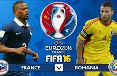 [News Game] Dự đoán kết quả trận mở màn EURO giữa Pháp và Romania