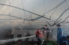Cháy lớn thiêu rụi 4.000m2 tại công ty in bao bì, thiệt hại 50 tỷ đồng