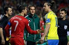 Ronaldo và Ibrahimovich có tham vọng tranh kỷ lục mới tại EURO