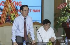 Trưởng ban Tuyên giáo TW thăm và chúc mừng các cơ quan báo chí