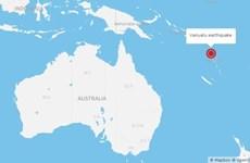 Động đất rung chuyển đảo Vanuatu ở Thái Bình Dương
