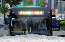 Mưa bão bất thường tại Trung Quốc làm 51 người thiệt mạng