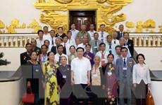 Phó Thủ tướng gặp đoàn đại biểu người có công tỉnh Quảng Ngãi