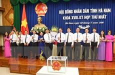 Ông Phạm Sỹ Lợi được bầu giữ chức Chủ tịch HĐND tỉnh Hà Nam