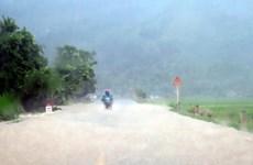 Vùng núi Bắc Bộ sẽ có mưa to trong ba ngày tới, nguy cơ lũ quét