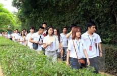 Thanh niên, sinh viên kiều bào tìm hiểu các di sản văn hóa dân tộc