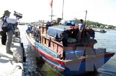 Năm ngư dân gặp nạn khi bị tàu Trung Quốc truy đuổi trở về đất liền