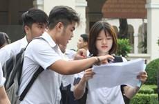 Công bố hai gói điểm thi cuối cùng trong kỳ thi THPT quốc gia 2016