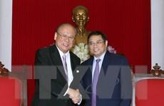 Dự án Đại học Việt-Nhật sẽ sớm đi vào hoạt động hiệu quả