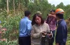 Bảo vệ công ty môi trường Phú Hà hành hung ba phóng viên