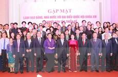 Lãnh đạo Đảng, Nhà nước gặp mặt đại biểu người dân tộc thiểu số